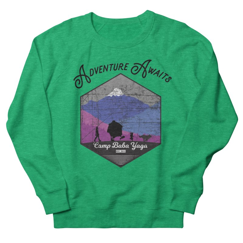 Adventure Awaits - Camp Baba Yaga - Winter Witch Edition Women's Sweatshirt by Fantastic Worlds Podcast  Shop