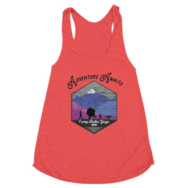 Adventure Awaits - Camp Baba Yaga - Winter Witch Edition Women's Tank by Fantastic Worlds Podcast  Shop