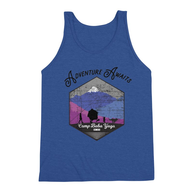 Adventure Awaits - Camp Baba Yaga - Winter Witch Edition Men's Tank by Fantastic Worlds Podcast  Shop