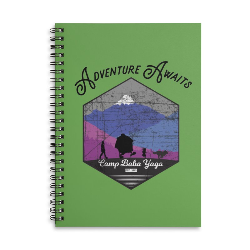 Adventure Awaits - Camp Baba Yaga - Winter Witch Edition Accessories Notebook by Fantastic Worlds Podcast  Shop