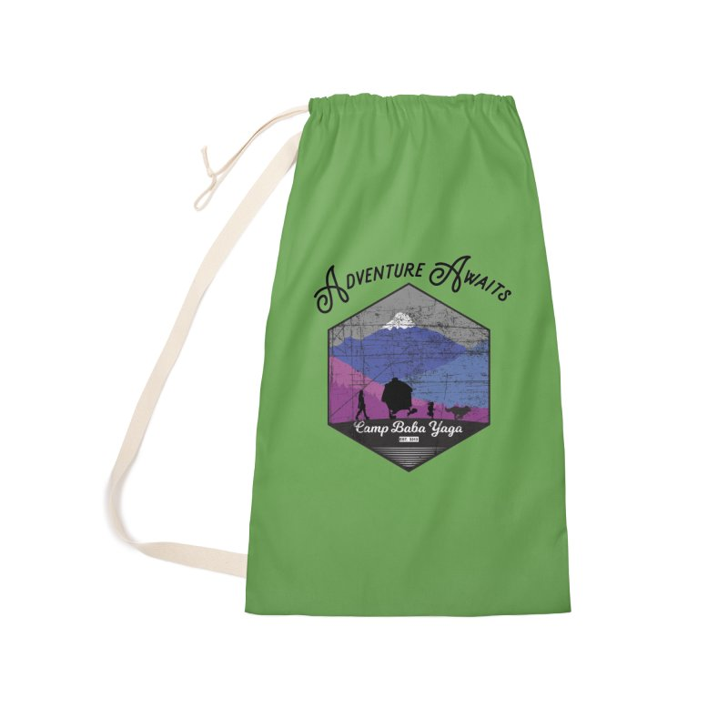 Adventure Awaits - Camp Baba Yaga - Winter Witch Edition Accessories Bag by Fantastic Worlds Podcast  Shop