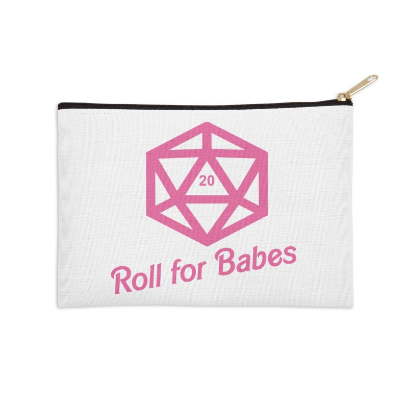 Roll for Babes Accessories Zip Pouch by fantasticworldspod's Artist Shop