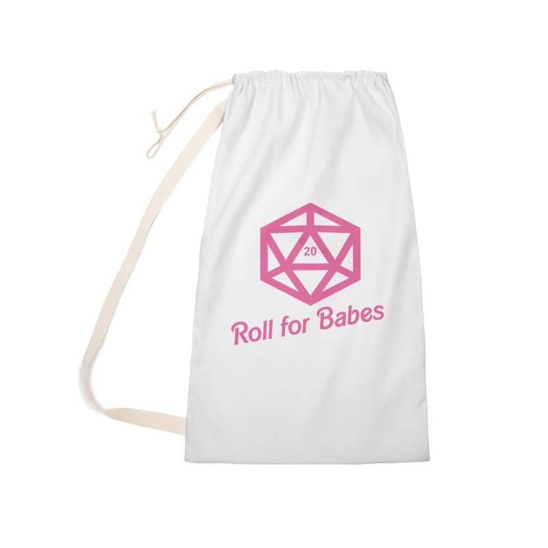 Roll for Babes Accessories Laundry Bag Bag by fantastic worlds pod's Artist Shop