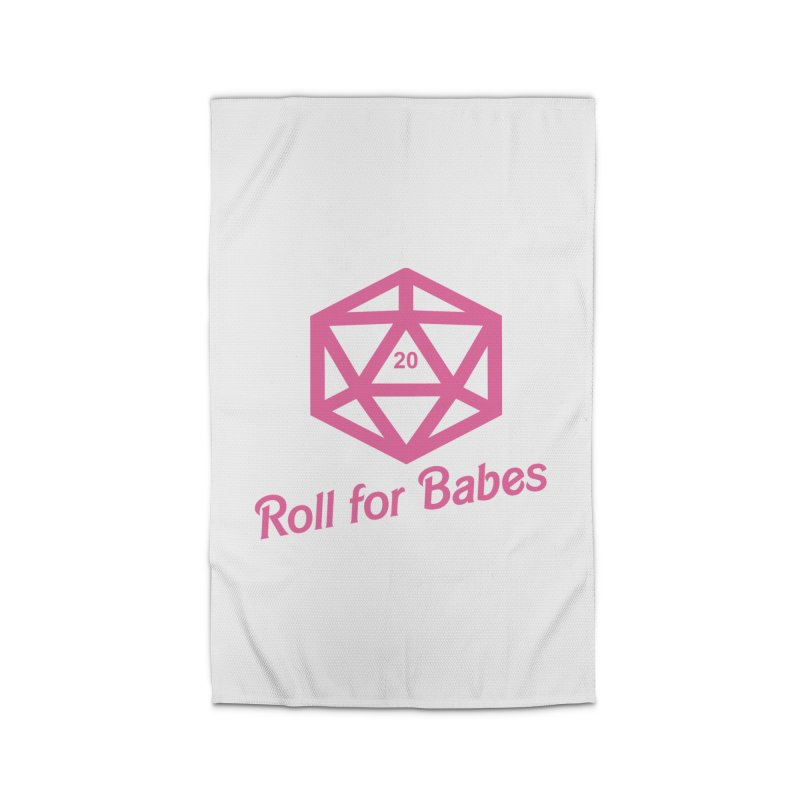 Roll for Babes Home Rug by fantastic worlds pod's Artist Shop
