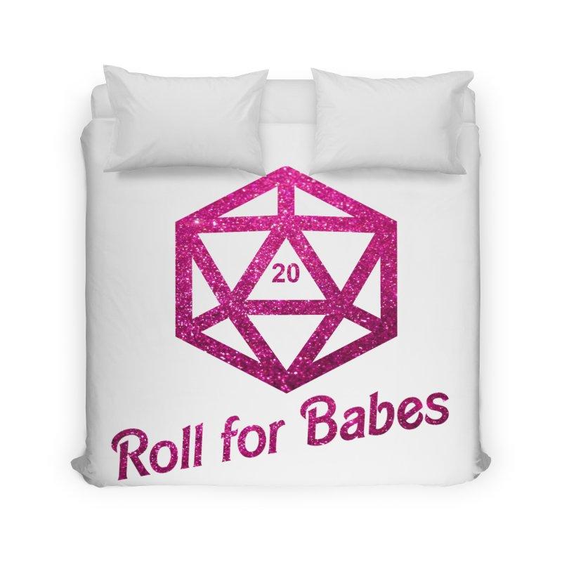 Roll for Babes - Glitter Home Duvet by fantasticworldspod's Artist Shop