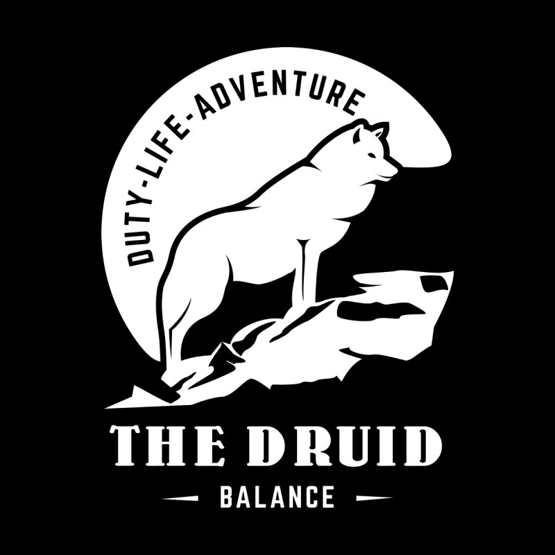 The Druid - White by fantastic worlds pod's Artist Shop