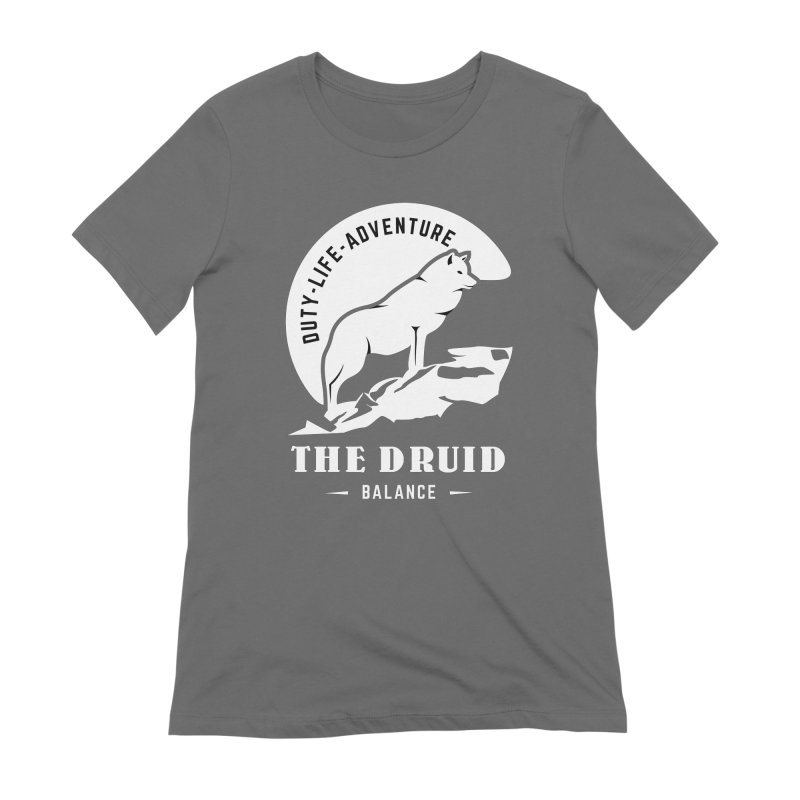 The Druid - White Women's T-Shirt by Fantastic Worlds Podcast  Shop