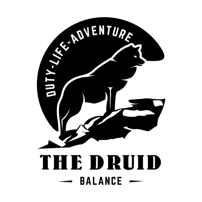 The Druid - Black   by fantastic worlds pod's Artist Shop