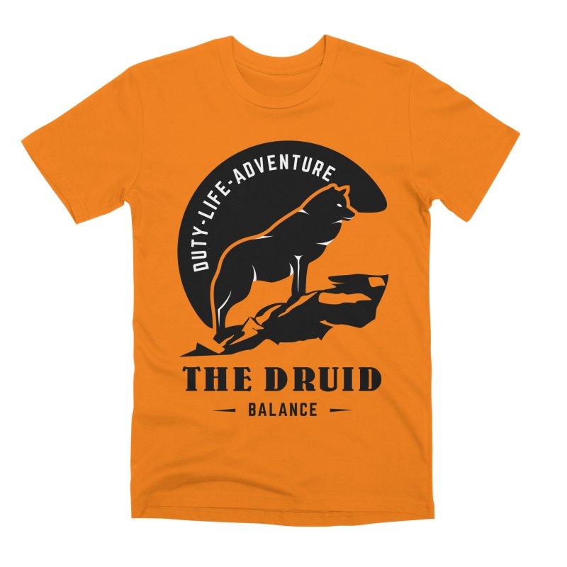 The Druid - Black Men's Premium T-Shirt by fantastic worlds pod's Artist Shop