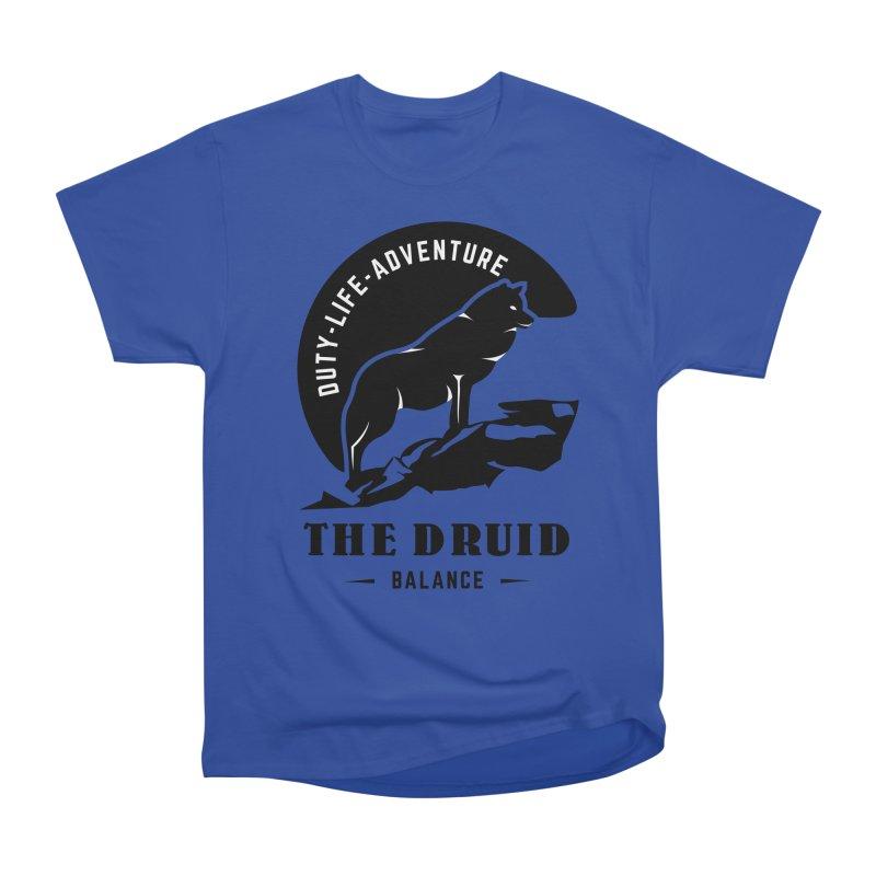 The Druid - Black Men's Heavyweight T-Shirt by fantastic worlds pod's Artist Shop