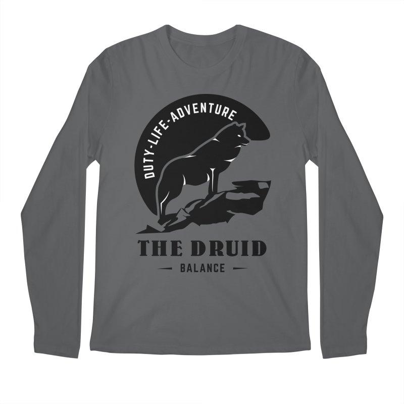 The Druid - Black Men's Longsleeve T-Shirt by Fantastic Worlds Podcast  Shop