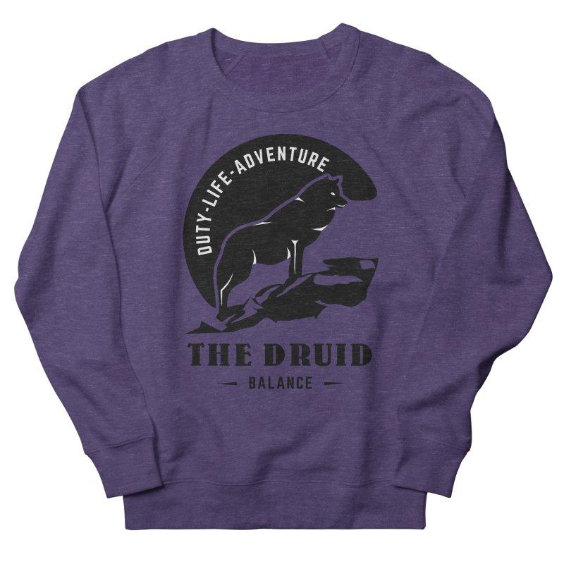 The Druid - Black Women's French Terry Sweatshirt by fantasticworldspod's Artist Shop
