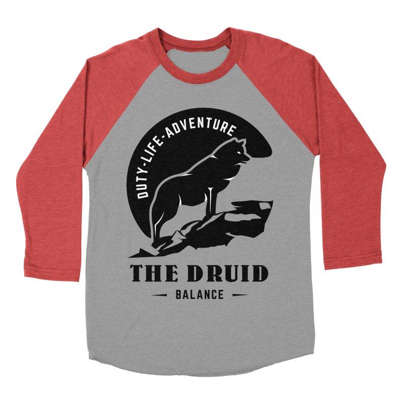 The Druid - Black Women's Baseball Triblend Longsleeve T-Shirt by fantastic worlds pod's Artist Shop
