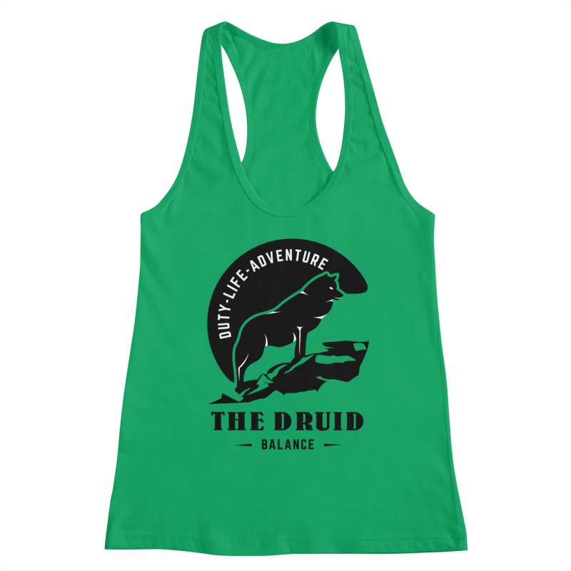 The Druid - Black Women's Tank by Fantastic Worlds Podcast  Shop