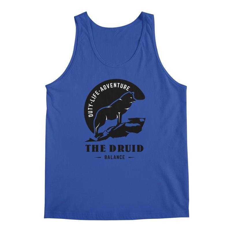 The Druid - Black Men's Regular Tank by fantastic worlds pod's Artist Shop