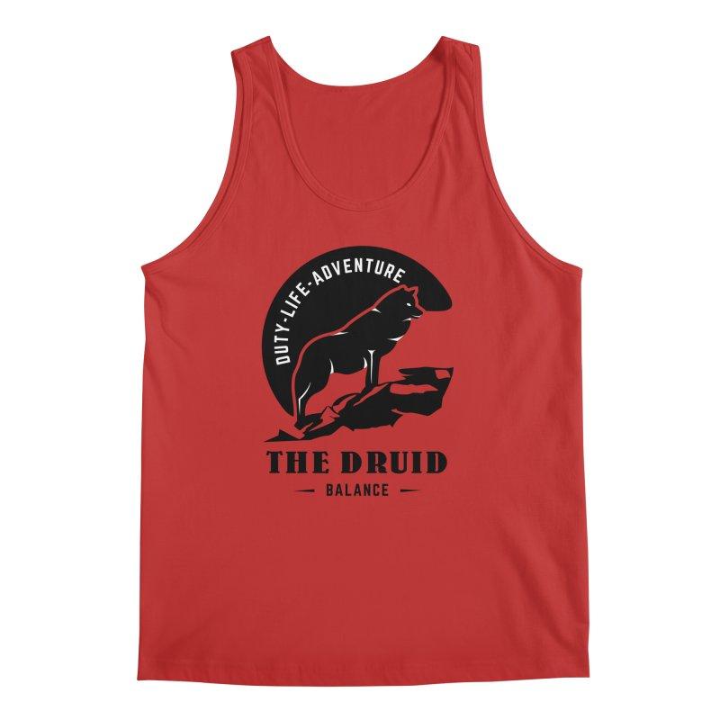 The Druid - Black Men's Regular Tank by fantasticworldspod's Artist Shop