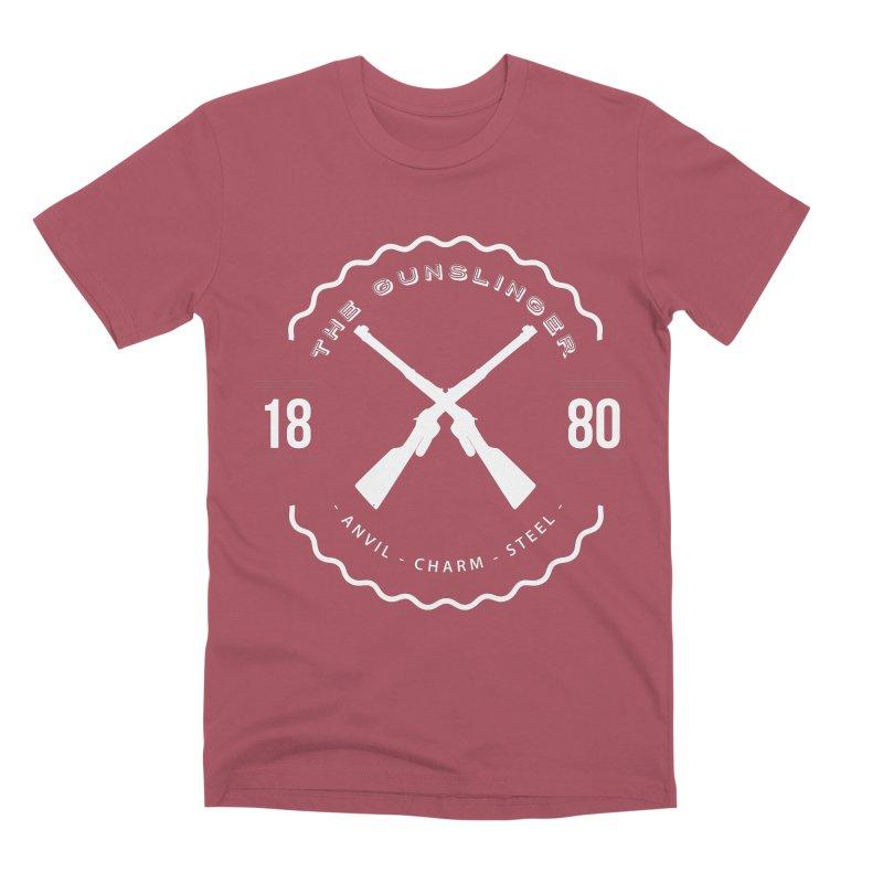 Odessa - White Men's Premium T-Shirt by fantasticworldspod's Artist Shop