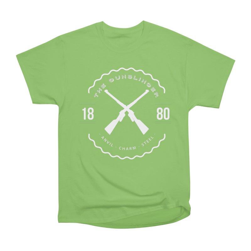 Odessa - White Women's Heavyweight Unisex T-Shirt by fantastic worlds pod's Artist Shop