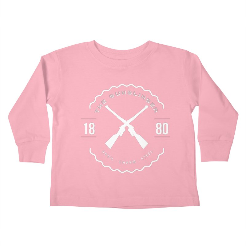 Odessa - White Kids Toddler Longsleeve T-Shirt by fantasticworldspod's Artist Shop