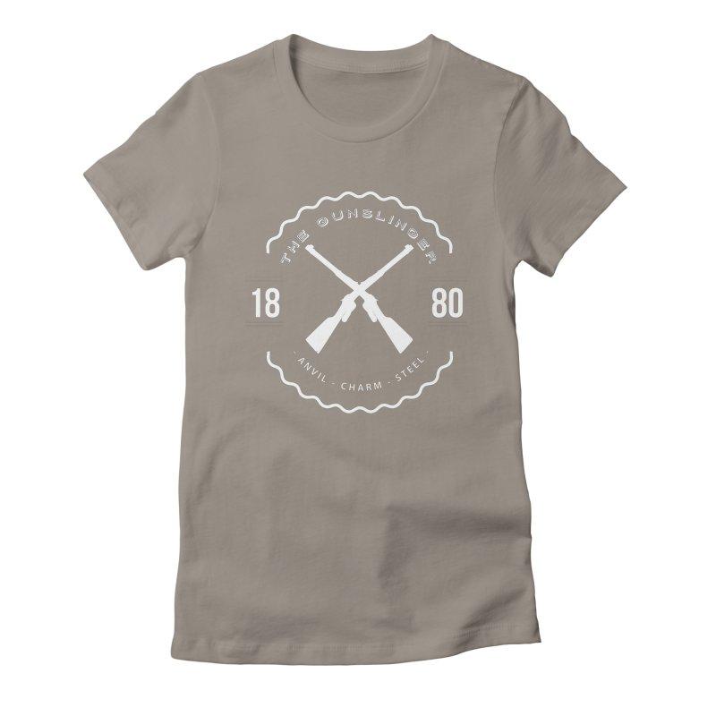 Odessa - White Women's Fitted T-Shirt by fantasticworldspod's Artist Shop