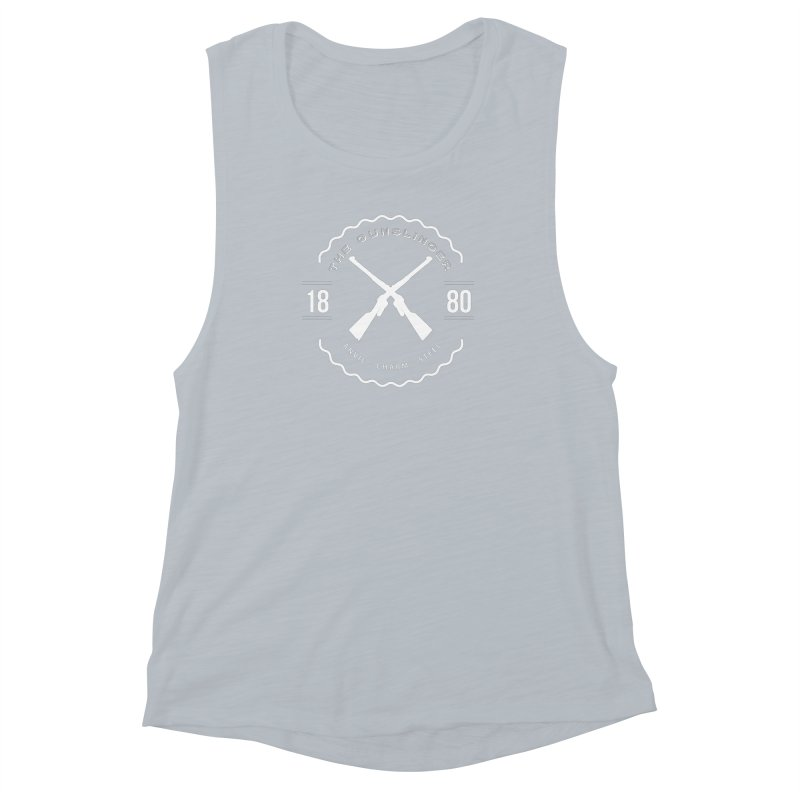 Odessa - White Women's Muscle Tank by fantastic worlds pod's Artist Shop