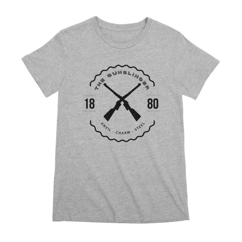Odessa - Black Women's Premium T-Shirt by fantastic worlds pod's Artist Shop
