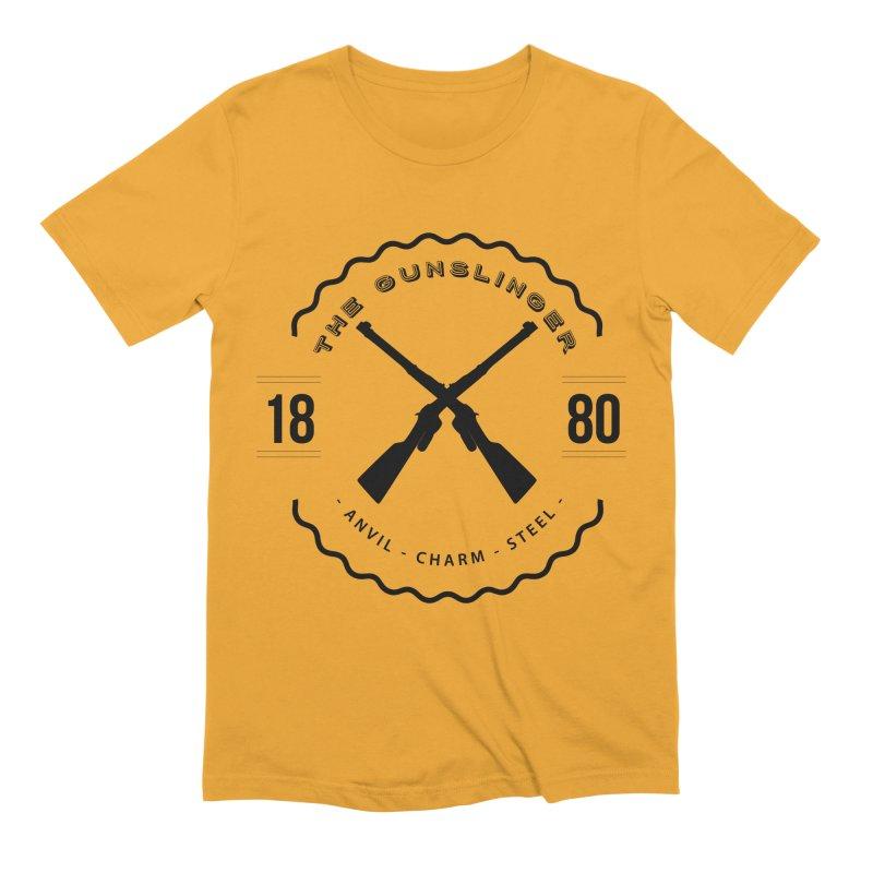 Odessa - Black Men's Extra Soft T-Shirt by fantastic worlds pod's Artist Shop