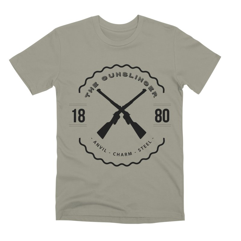 Odessa - Black Men's Premium T-Shirt by fantastic worlds pod's Artist Shop