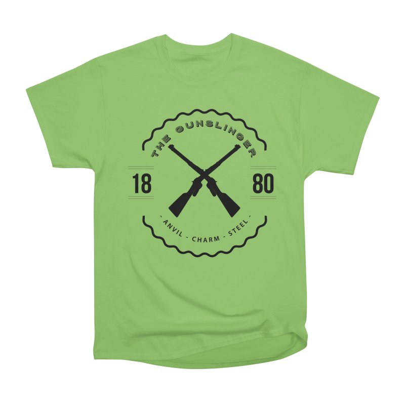 Odessa - Black Men's Heavyweight T-Shirt by fantasticworldspod's Artist Shop