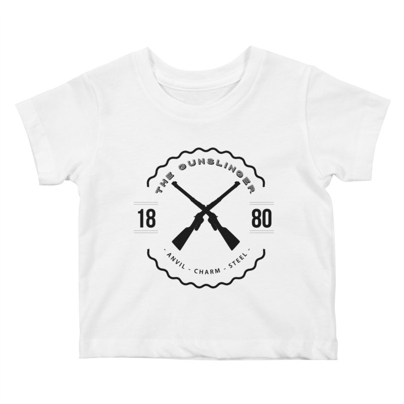Odessa - Black Kids Baby T-Shirt by fantasticworldspod's Artist Shop