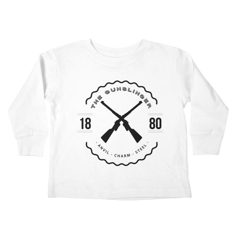 Odessa - Black Kids Toddler Longsleeve T-Shirt by Fantastic Worlds Podcast  Shop