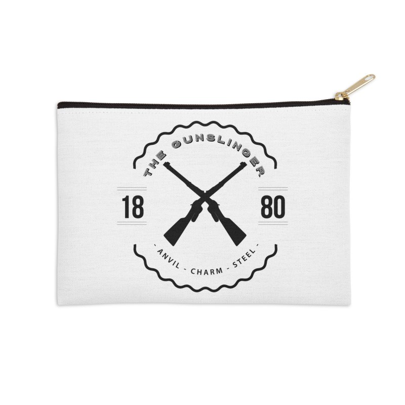 Odessa - Black Accessories Zip Pouch by fantasticworldspod's Artist Shop