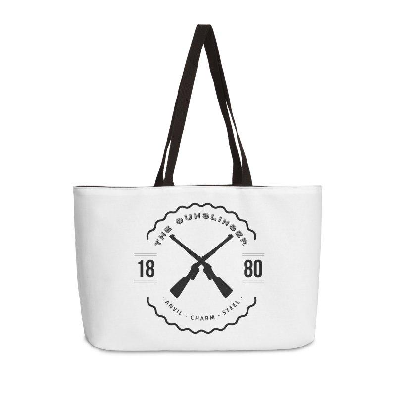 Odessa - Black Accessories Weekender Bag Bag by fantastic worlds pod's Artist Shop