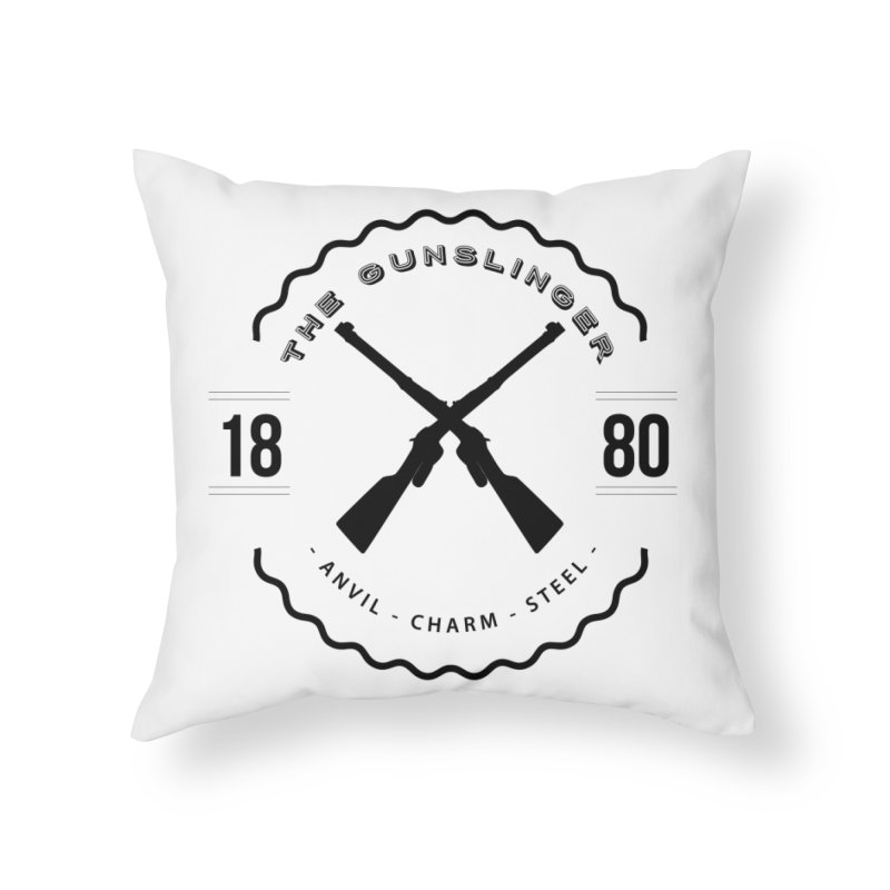 Odessa - Black Home Throw Pillow by fantastic worlds pod's Artist Shop