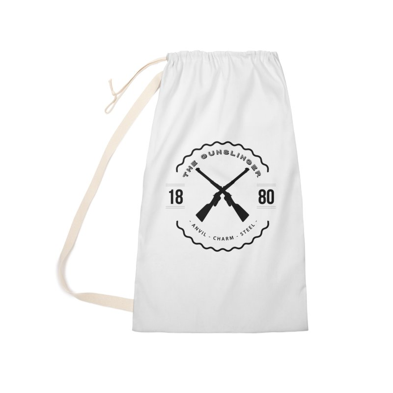 Odessa - Black Accessories Laundry Bag Bag by fantastic worlds pod's Artist Shop
