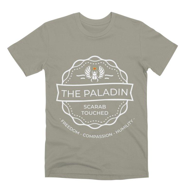 Menet Sigil - White Men's Premium T-Shirt by fantastic worlds pod's Artist Shop