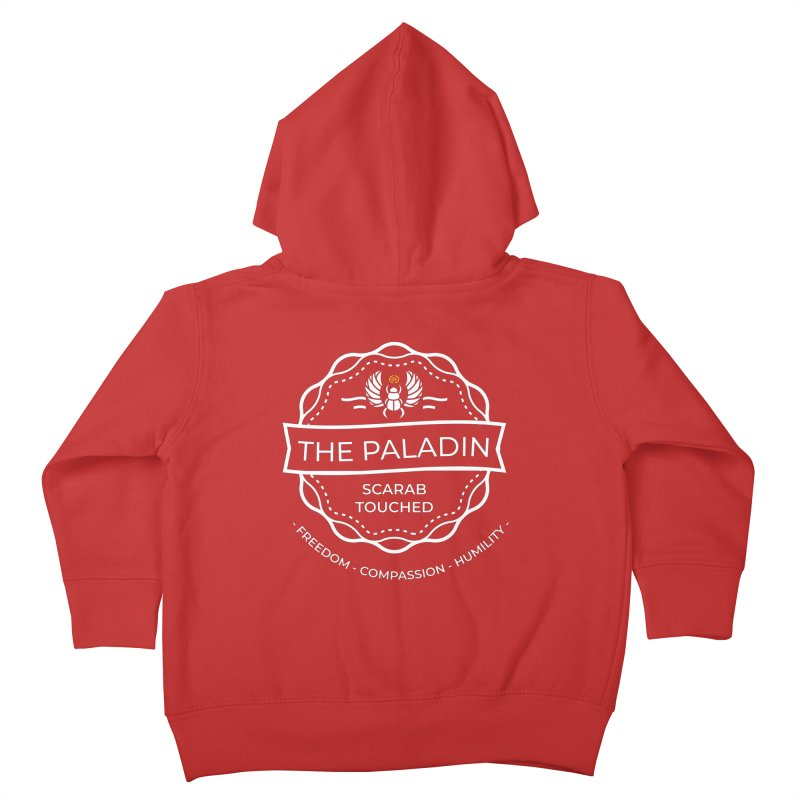 Menet Sigil - White Kids Toddler Zip-Up Hoody by Fantastic Worlds Podcast  Shop