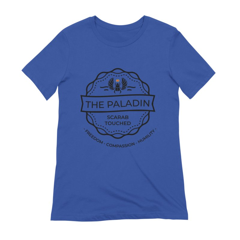 Menet - Black Women's T-Shirt by Fantastic Worlds Podcast  Shop
