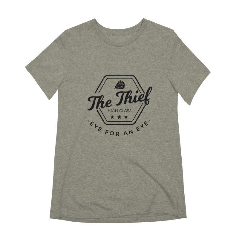 Pippa - Rogue - Black Women's Extra Soft T-Shirt by fantasticworldspod's Artist Shop