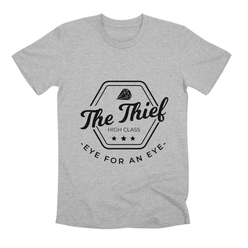 Pippa - Rogue - Black Men's Premium T-Shirt by fantasticworldspod's Artist Shop