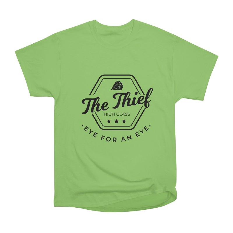 Pippa - Rogue - Black Women's Heavyweight Unisex T-Shirt by fantastic worlds pod's Artist Shop