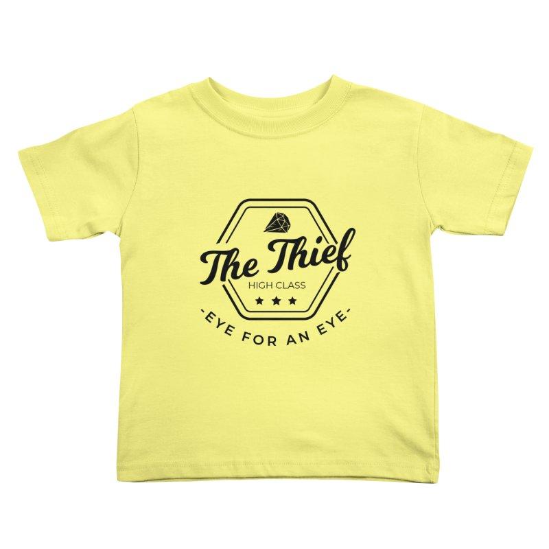 Pippa - Rogue - Black Kids Toddler T-Shirt by fantastic worlds pod's Artist Shop