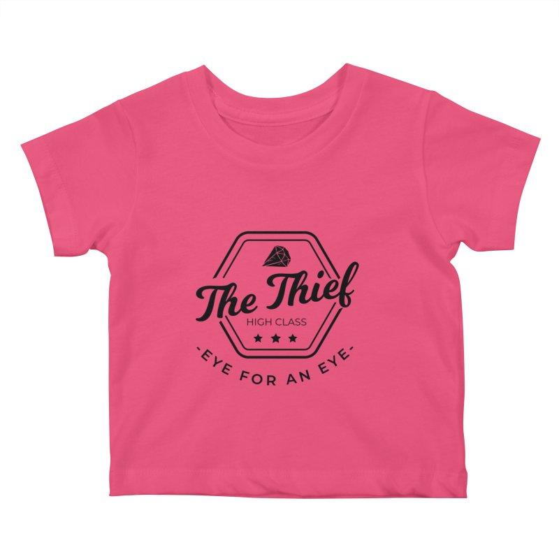 Pippa - Rogue - Black Kids Baby T-Shirt by fantastic worlds pod's Artist Shop