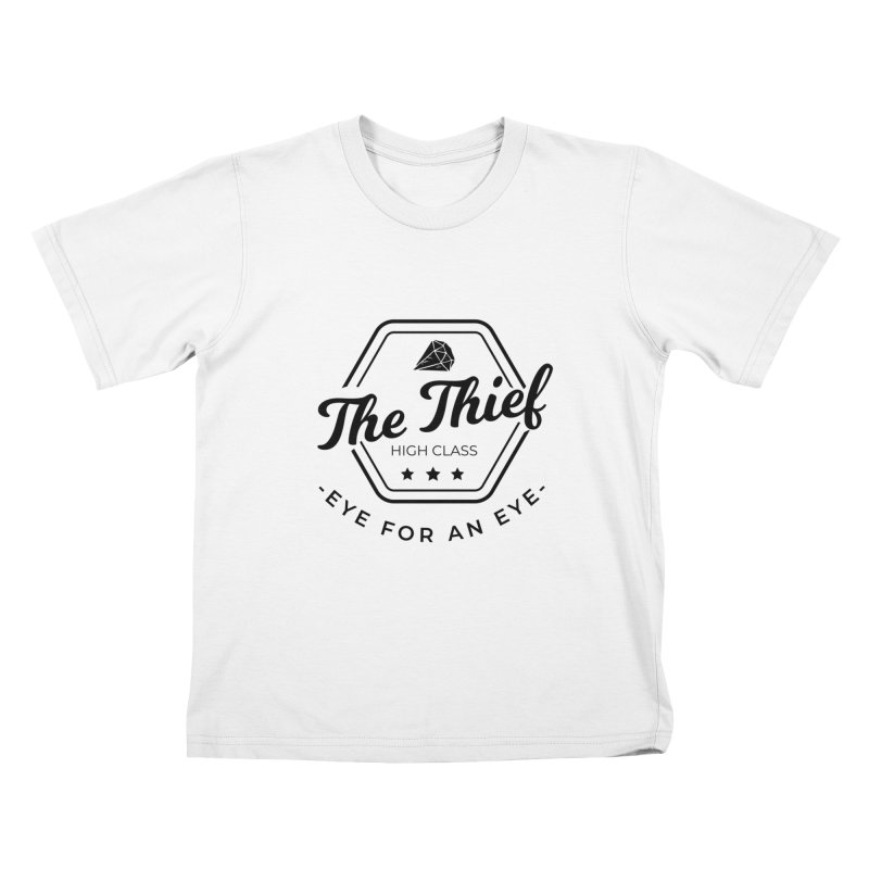 Pippa - Rogue - Black Kids T-Shirt by fantastic worlds pod's Artist Shop