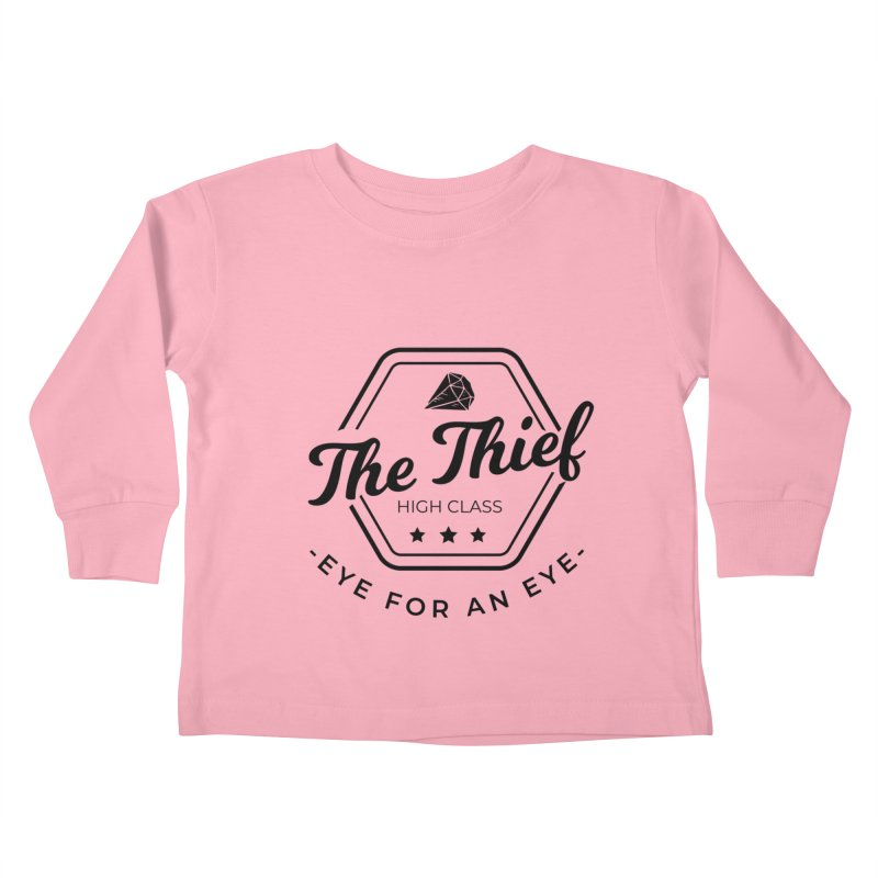 Pippa - Rogue - Black Kids Toddler Longsleeve T-Shirt by Fantastic Worlds Podcast  Shop