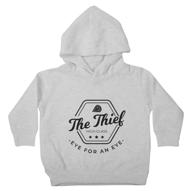 Pippa - Rogue - Black Kids Toddler Pullover Hoody by Fantastic Worlds Podcast  Shop