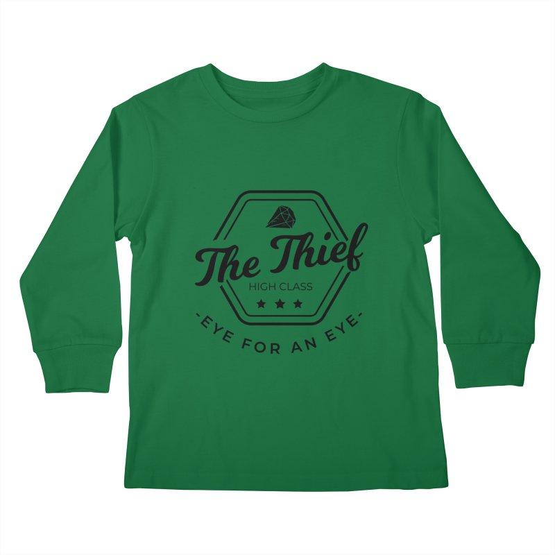 Pippa - Rogue - Black Kids Longsleeve T-Shirt by Fantastic Worlds Podcast  Shop