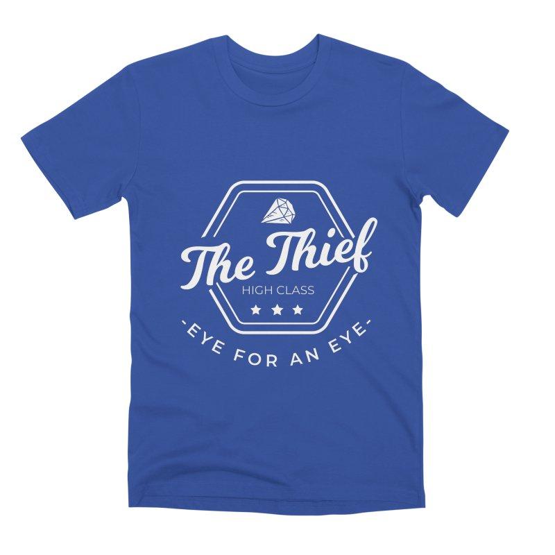 Pippa -  Rogue - White Men's Premium T-Shirt by fantastic worlds pod's Artist Shop