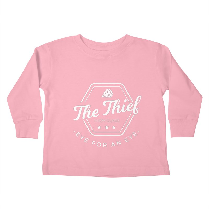 Pippa -  Rogue - White Kids Toddler Longsleeve T-Shirt by Fantastic Worlds Podcast  Shop