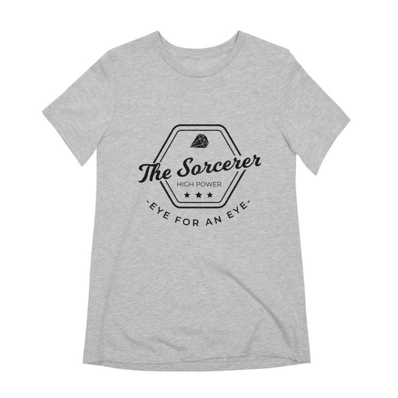 Pippa - Sorcerer - Black Women's Extra Soft T-Shirt by fantastic worlds pod's Artist Shop